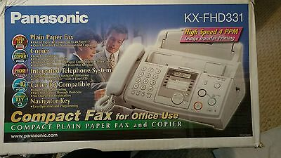Panasonic KX-FHD331 Plain Paper Compact Fax & Copier NEW In The Box