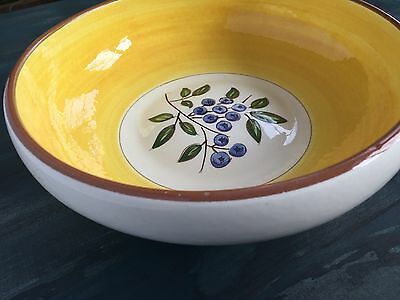 """Stangl Blueberry 10"""" Serving Bowl"""