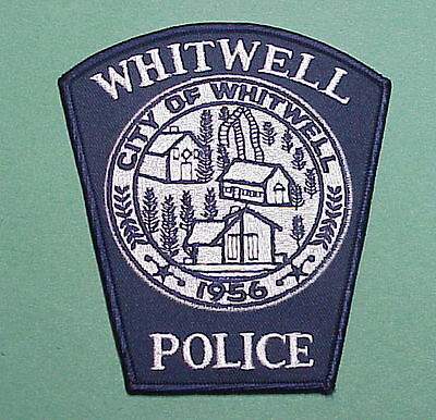 Whitwell  Tennessee  1956  Tn  Police Patch   Nice!!  Free Shipping!!!