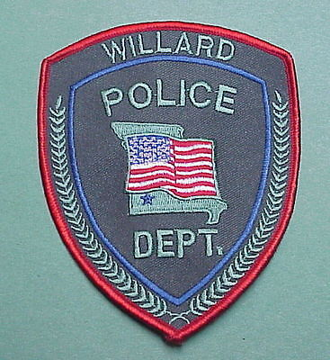 Willard  Missouri  Mo  ( Red Border )  Police Patch   Free Shipping!!!
