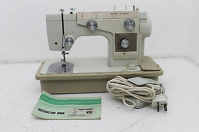 New Home 690 Semi Industrial Sewing Machine With Instructions