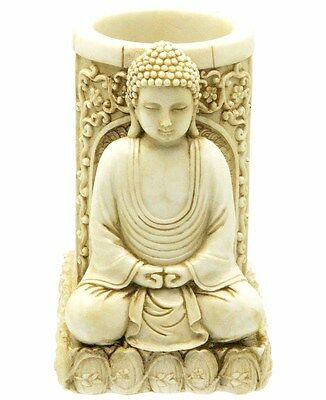 Buddha Pen and Pencil Holder (2372) NEW 3.75 Inches High