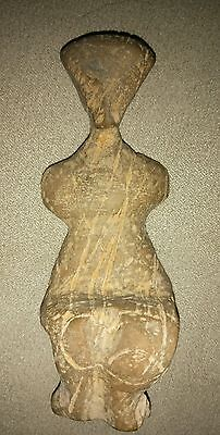 Extremely rare figure stone, antique mother godess, Europe.