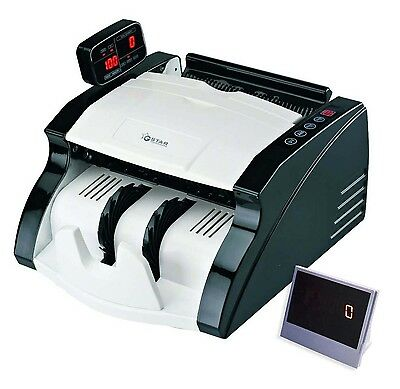 G-Star Technology Money Counter With UV/MG/IR Counterfeit Bill Detection (Sta...