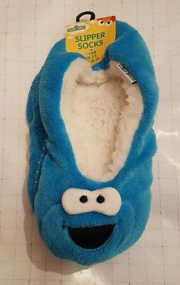 Sesame Street Cookie Monster Slipper Socks