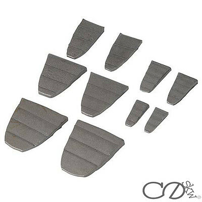 10 Pce Hammer Wedge Set replacement replacing handle slot eye repair head WEDGES