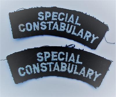 Special Consbulary Shoulder Patches