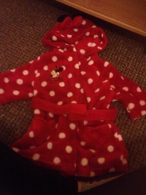 Girls Dressing Gown 6-9