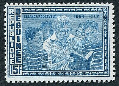 GUINEA 1964 15f blue SG444 mint MH FG Declaration of Human Rights Anniv #W9