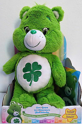 Care Bears | Good Luck Bear | Plush with DVD