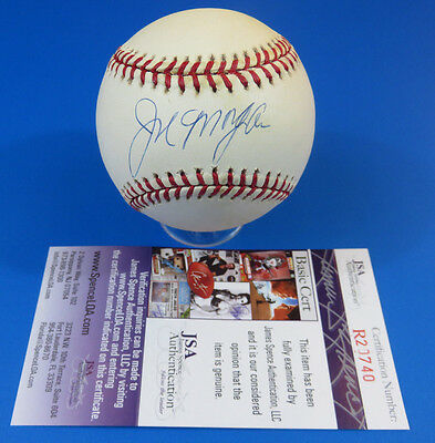 Joe Morgan Signed Ron Baseball ~ Jsa R20740 ~ Autograph Ball ~ Reds / Hof