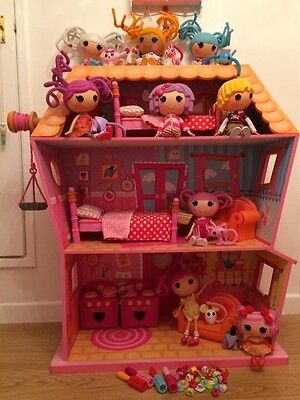 Lalaloopsy House With Accessories & Dolls