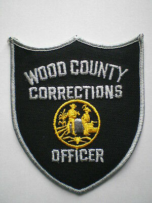 West Virginia Wood County County Sheriff Corrections police patch WV