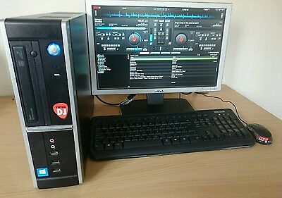 Karaoke & Disco computer system with Virtual dj windows 10 CD+G new years party!