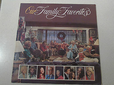 Our Family Favourites with Billy Graham Vinyl Album