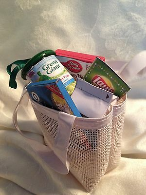 """Doll Accessories -Grocery Bag of Food -American Girl Or 18"""" Doll"""