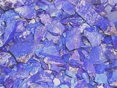 Lapis lazuli all natural mine rough Afghanistan 3/4 to 1.75 inch 1/8 pound lots