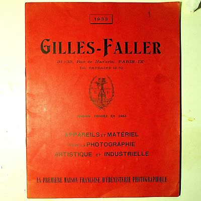Gilles-Faller. Chambre Tourist, Chambre Gilles. French Camera Manufacturer Paris