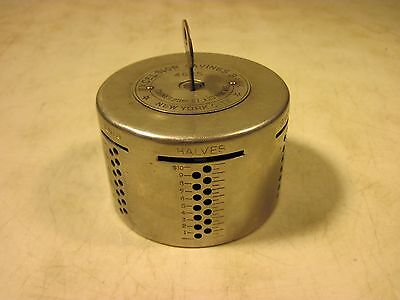 Antique 1913 Automatic Recording Safe Co Excelsior Savings Bank NY Chicago USA