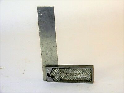 """Superb Stanley #  Try Square 4"""" Inv T1421"""