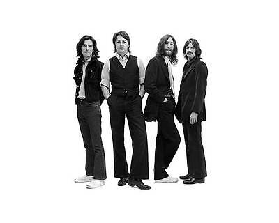 The Beatles in Suits 8x10 Vintage Glossy Black & White Photo