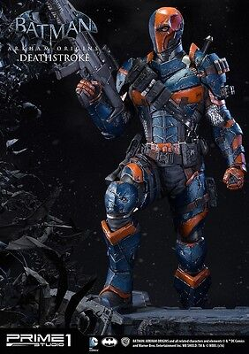 Prime 1 Deathstroke Exclusive Sideshow New Statue Sold Out 1:3 Arkham Origins