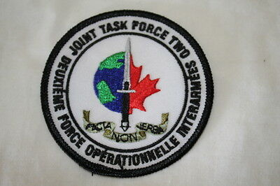 Canadian Special Forces JTF2 Colour Patch Insignia