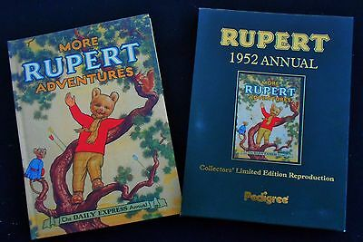 1952 Rupert Bear Limited Edition Facsimilie Annual With Protective Slip Cover