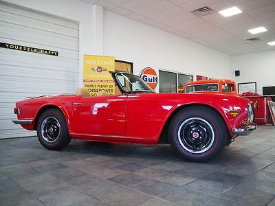 1971 Triumph TR-6  Great driver-quality vehicle. Extensive list of maintenance/reliability upgrades