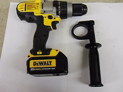 "New Dewalt DCD985 1/2"" 3 Speed 20V Max Cordless Hammer Drill Driver With Battery"
