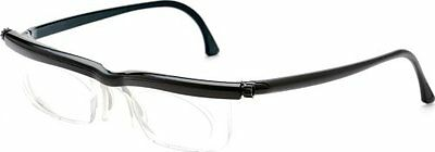 Adlens Adjustable Eyeglasses Emergency Varifocal Lens Glasses EM02-BK