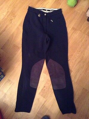 Blue Ladies Pikeur Breeches Size 10 UK