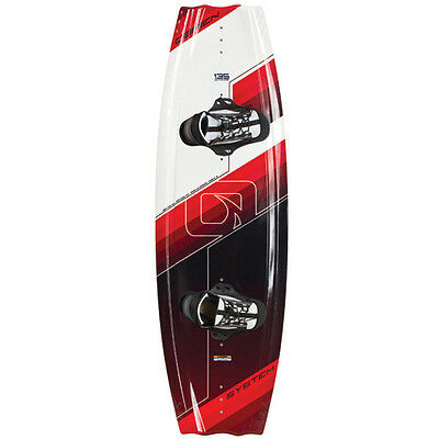 O'Brien System 135 cm Wakeboard Board With 10-12 Link Bindings - NIB