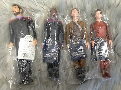 STAR TREK Deep Space Nine & Next Generation Action Figures By Applause Lot NEW