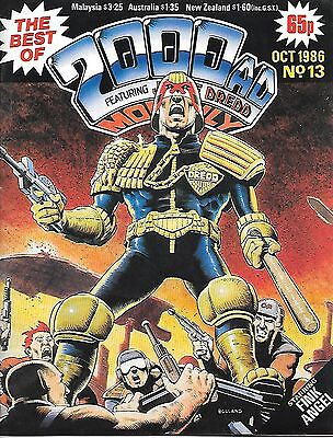 "Best of 2000 AD Monthly #13 (1986) 2 x ABC Warriors + Dredd ""Fink"" and ""Boing"""