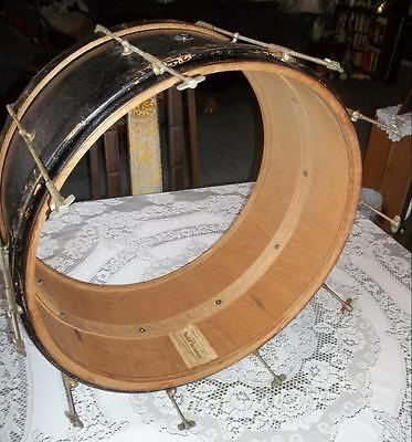 """Sherman Clay Antique 24"""" Concert/Marching Bass drum"""