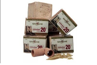 Savon d'Alep traditionnel BIO , 20 % huile de laurier Lot De 3 X 200 G