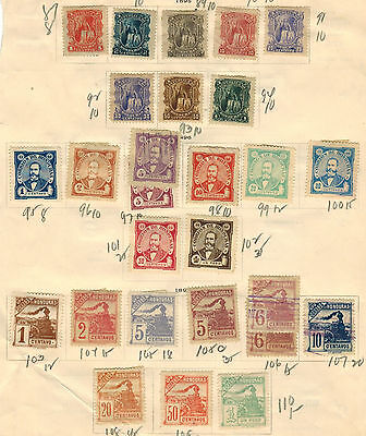Honduras & Colombia Stamps Collection Used & Mint Hinged