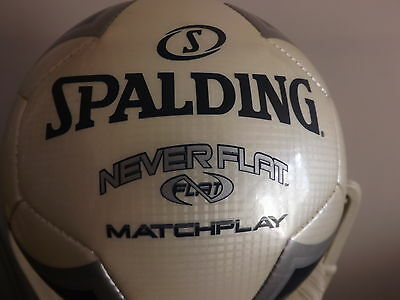 Coaches.. MATCH game soccer ball,football,futbol, NEVER  FLAT size 5..Must Have!