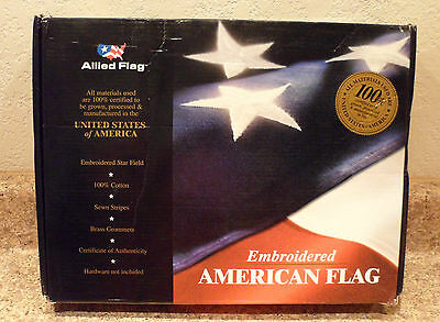 3'x5' American Flag Flown over US Capitol 8/16/03 Request of Sam Brownback COA