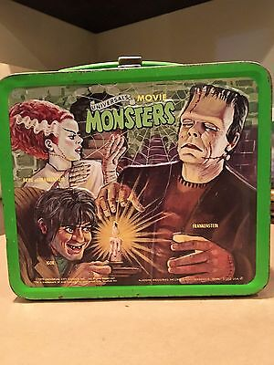 Universal Movie Monsters Lunch Box No Thermos Aladdin Industries 1979