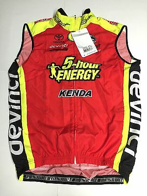 Suarez Size Large Wind Light Weight Cycling Vest Full Zip - New - 5-hour ENERGY