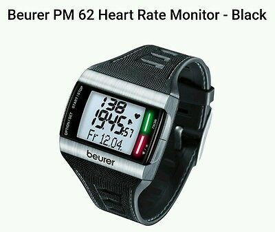Beurer PM 62 Heart Rate Monitor Black