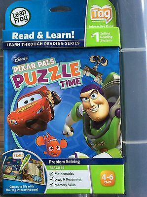 LeapFrog Tag PIXAR PALS PUZZLE TIME 4-6 years