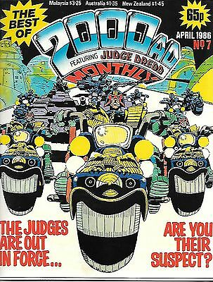 Best of 2000 AD Monthly #7 (1986) Nemesis/Rogue/Dredd/Strontium Dog/Moore short