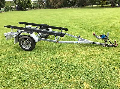 Galvanised Boat Trailer