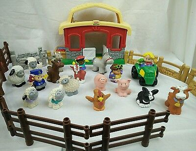 Little People - Fisher Price Farm Assorted Lot