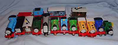 Lot of 17 Thomas the Tank Engine & Friends TAKE-N-PLAY DIE CAST TRAINS
