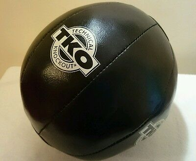 New TKO Medicine Ball 3kg Genuine Leather Technical Knockout