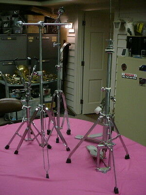 5 STAND S  Hi hat  , Booml , Snare Drum , Straight Cymbal , Foot Pedal 1 PEARL